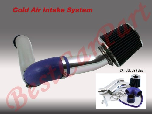 05 06 07 08 09 Dodge Magnum/Charger 3.5 Cold Air Intake (Include Air Filter) Blue #Cai-Dg009 Blue