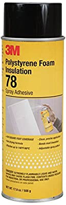 3M Polystyrene Foam Insulation Spray Adhesive 78