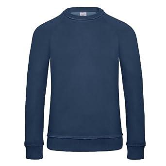 B&C Denim Invincible - Sweatshirt - Homme (S) (Indigo profond)