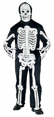 Eva Skeleton Plus Size Men's Costume Adult Halloween