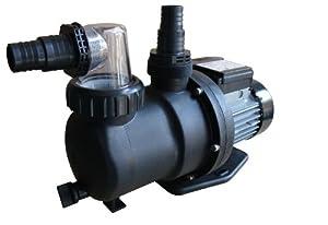 Steinbach Sandfilteranlagenzubehör Filterpumpe SPS 751T, mit Zeitschaltuhr, Schwarz, 142 l/min / 450 W / 230 V  GartenKundenbewertung und weitere Informationen