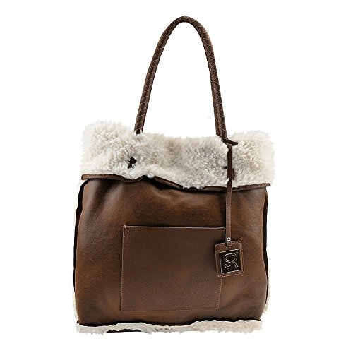 sr-squared-by-sondra-roberts-reversible-faux-shearling-tote-bag-brown-white