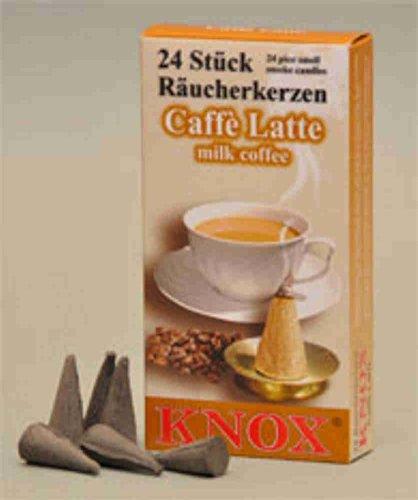 Per incenso candele caffè Latte 24 pcs/naturale.