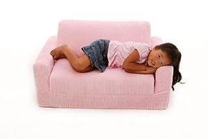 Fun Furnishings Sofa Sleeper, Pink Chenille by Fun Furnishings