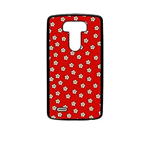 Vibhar printed case back cover for LG G4 ManyFlowers