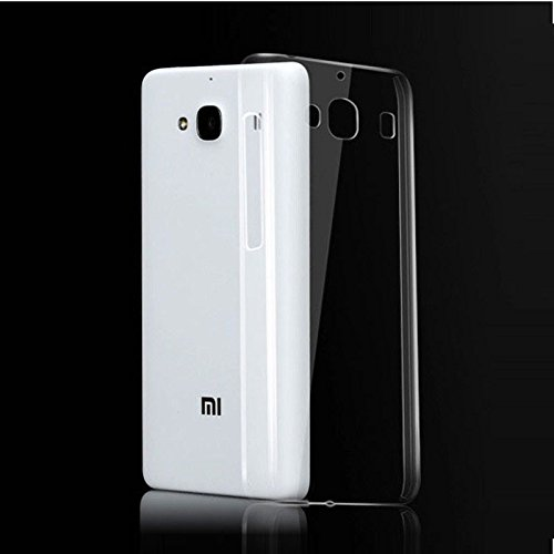 buy popular 9b453 1d930 SDO Dotted Finish Ultra Thin Silicone Soft Case Back Cover for Xiaomi RedMi  2 Prime - Transparent with Clear Screen Guard