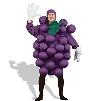 Purple Grapes Adult Costume - Adult Costumes