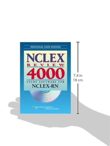 NCLEX Review 4000: Individual Version: Study Software for NCLEX-RN