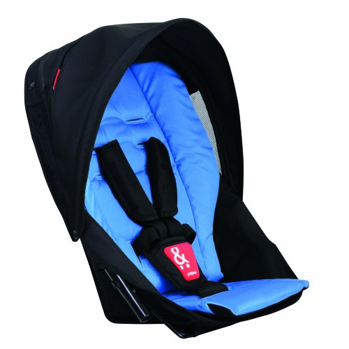 Phil&Teds Navigator Doubles Kit For Strollers, Sky front-726810