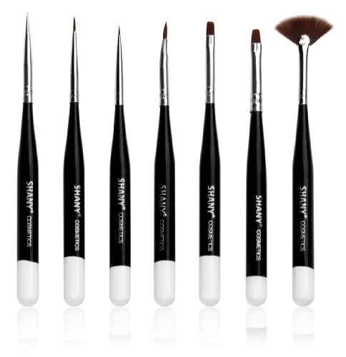 SHANY Professional Nail Brush Set (7 ...