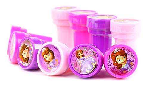 Disney Princess Sofia the First Self-Inking Stamps / Stampers Party Favors (10 Counts)