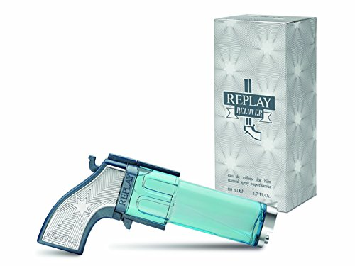 Replay, Relover, Eau de Toilette da uomo, 80 ml