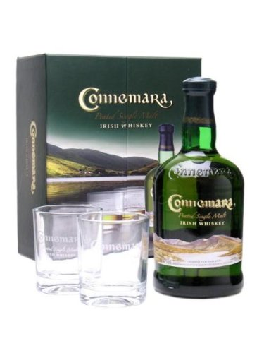 Connemara Peated Single Malt + 2 Glasses Single Malt Whisky