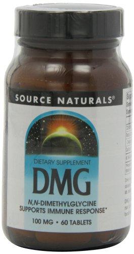 Source Naturals Dmg 100Mg, 60 Tablets