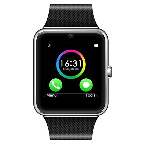 All-in-1-Bluetooth-Watch-Wrist-Watch-Phone-with-SIM-Card-Slot-cameraxFF0Cand-NFC-bluetooth-30-or-higher-Easy-connection-Make-callsSupport-SIMTF-for-IOSAndroid-Above-SmartPhones
