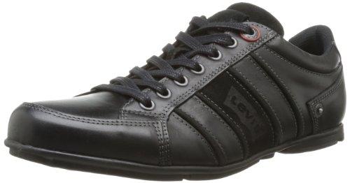 Levi's, 218261, Sneaker, Uomo, Nero (Schwarz (Regular Black 59)), 40