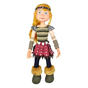 "Amazon.com: Astrid - How to Train Your Dragon 14"" Poseable Plush"