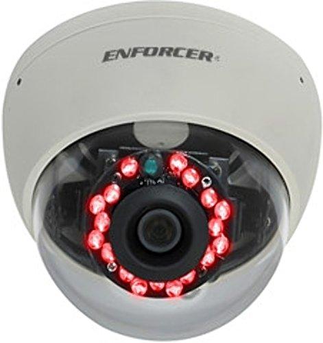 Seco-Larm Ev-2166-N3Wq Enforcer Mid-Size Vandal Color Dome Camera With Ir