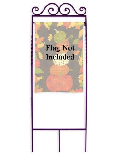 Forged Garden Flag Arbor