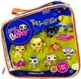 Littlest Pet Shop #2 Collectors Pack of 8 Pets Frog, Parrot, Owl, Lion, Gecko, Ferret, Dog Cat