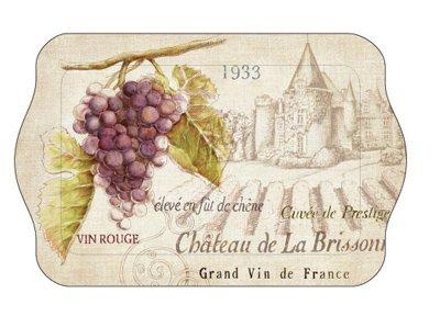 Small Melamine Sandwich Tray (1) (Vin De Chateau)