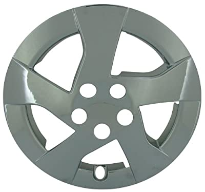 CCI IWC448-15C 15 Inch Clip On Chrome Finish Hubcaps - Pack of 4