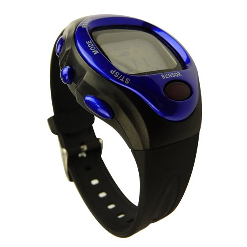 Heart Rate Monitor Calorie Counter Wrist Watch Touch-on Pulse Measuring