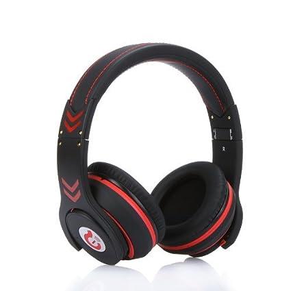 Kingzer Syllable G18 Casque noir Bluetooth 4.0 sans fil avec réduction de bruit et microphone