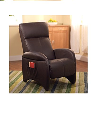 Small leather recliners our superior recliner chairs come for Addin chaise recliner