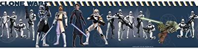 Roommates Star Wars Clone Wars Peel & Stick Border from Roomates