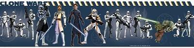 Roommates Star Wars Clone Wars Peel & Stick Border from Roomates