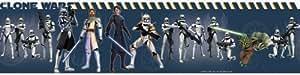 RoomMates RMK1394BCS Star Wars: the Clone Wars Peel & Stick Border