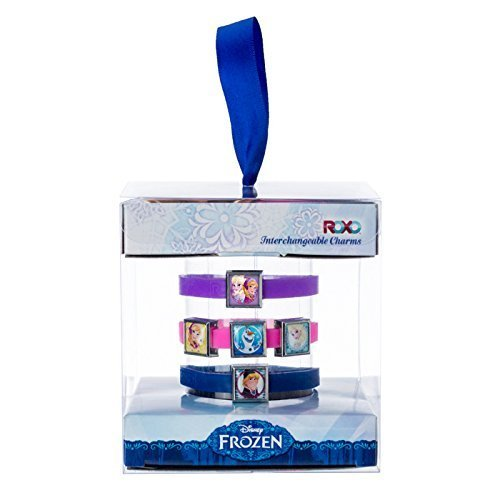 Roxo Disney Frozen Interchangeable Charm Bracelets Gift Box Set - Medium Bracelets