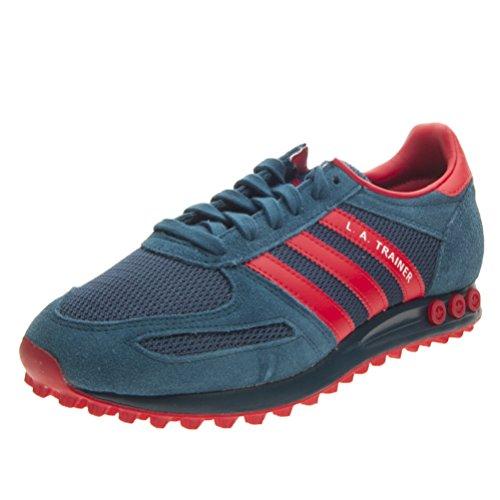 Adidas La Trainer, Scarpe da Ginnastica Uomo, Grigio (Tecste/Red/Ftwwht), 41 1/3 EU
