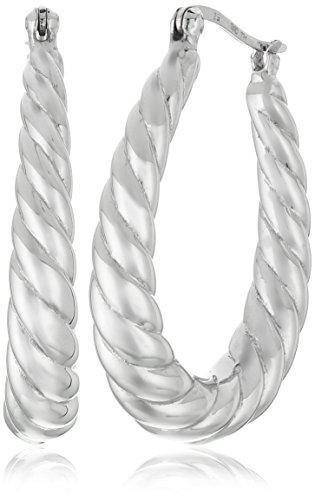 sterling-silver-textured-oval-hoop-earrings