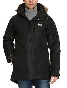 Helly Hansen Men's Dublin Parka Waterproof Jacket - Black, Large