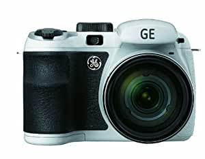 General Imaging Power PRO X550-WH 16Digital Camera with 16MP, 15X Optical Zoom, 2.7-Inch LCD and 27mm Wide Angle Lens (White) (OLD MODEL)