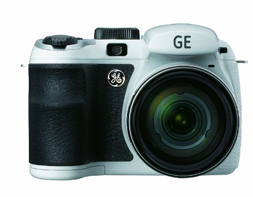 GE Power Pro X500-WH 16 MP with 15 x Optical Zoom Digital Camera, White