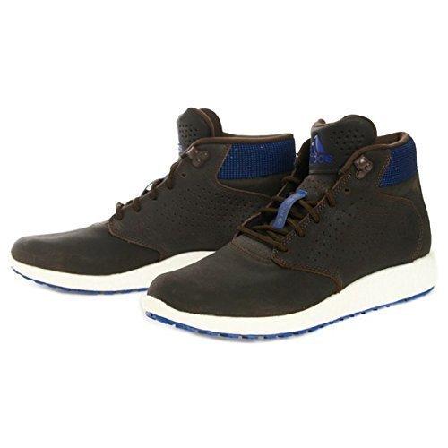 ADIDAS D ROSA LAKESHORE SPINTA Uomo Marrone Scuro Scarpe Da Ginnastica Blu scarpe C774 - Scuro Marrone/Blu, Uomo, UK 7.5 / EUR 41 1/3 / US 8