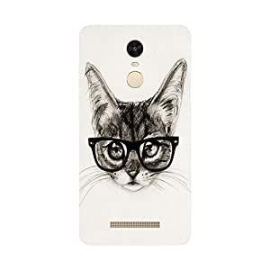 Back Cover for Redmi Note 3 geeky cat