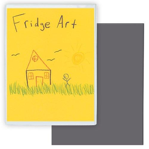 StoreSMART® - Refrigerator Art Full Back Magnetic Frames - 3-Pack - 8 1/2