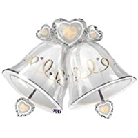 1 X Wedding Bells Shape 35in Balloon by ANAGRAM