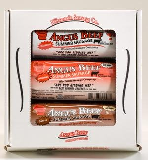 Angus Beef Summer Sausage Gift Pack