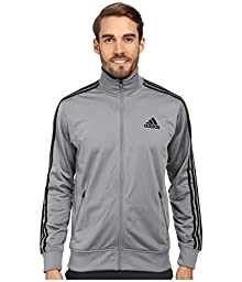 Adidas Men\'s F14 Post Game Track Jacket Grey/Black Size Medium