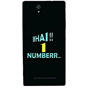 Skin4gadgets BHAI 1 NUMBER.. Phone Skin for SONY XPERIA C3 DUAL (s55t)