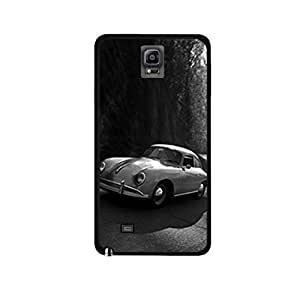 Vibhar printed case back cover for Samsung Galaxy Note 4 ClassicVintage