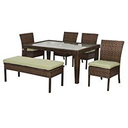 Belmont Outdoor Dining Bar Seating Wicker Furniture At Target Entertaining Patio Furniture