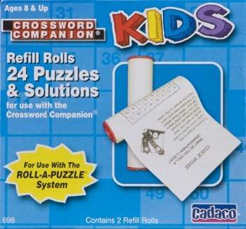 698 Crossword Companion Kids Refill