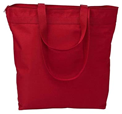 Liberty Bags Melody Durable Construction Large Tote Bag, One Size, Cardinal