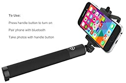 Premium Bluetooth Selfie Stick - Compact, Easy to Use, Foldable & Extendable (7\